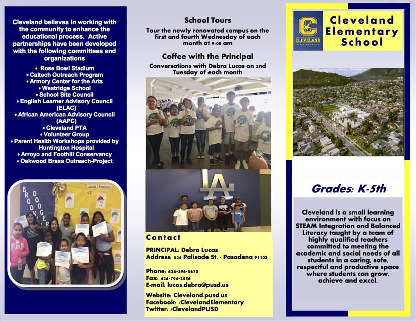 Enroll in Cleveland Today!