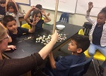 Cleveland Elementary students participate in Science Wednesdays with Caltech students