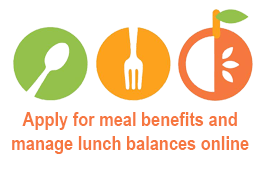 Apply for meal benefits and manage lunch balances online